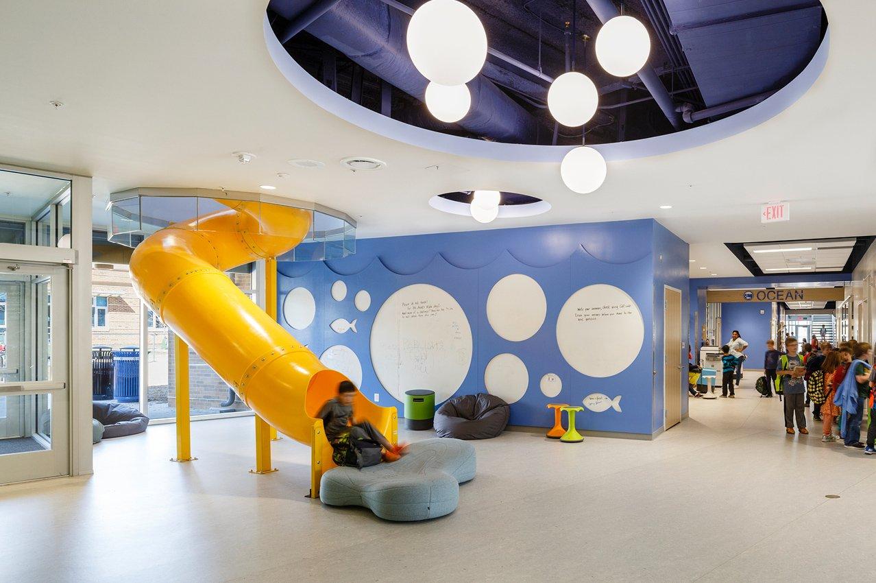 Discovery Elementary School Interiors